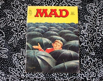 Vintage Mad Magazine June 1975 Super Special. Collectible Funny Alfred E Neuman 80s Retro Mad Magazine. 70s Mad Magazine