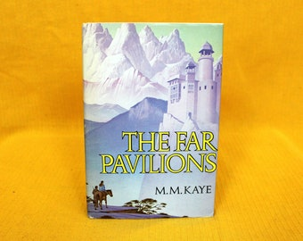 The Far Pavillions By M.M. Kaye. 1978 First Book Club Edition. 70s Fantasy Swords And Sorcery Novel. M.M. Kaye Hardcover Fantasy Book.