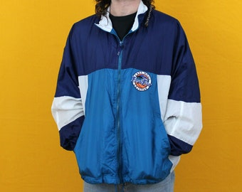 2d6f573f8c 1995 Final Four Nike Windbreaker Jacket. NCAA March Madness Collectible  Embroidered Nike Jacket. Sporty Spring Layer.