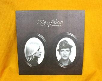 Mates Of State - Re-Arrange Us - Vinyl LP Record Album - Rare Indie Rock Vinyl LP. Classic Indie Pop First Pressing Barsuk Records.