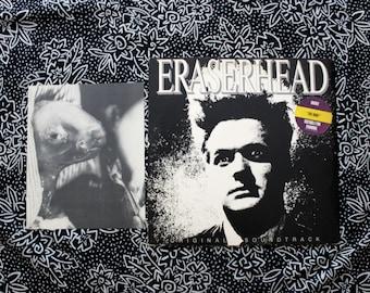 Eraserhead Original Soundtrack With POSTER - Vintage Vinyl LP Record Album -Original 1982 IRS Records First Pressing. David Lynch Twin Peaks