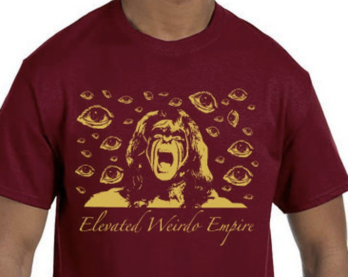 Featured listing image: Pre-Order For Elevated Weirdo Ultimate Warrior T Shirt. Limited Out of 20. Only 5 Up For Preorder.