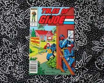 Tales Of G.I. Joe #10 Vintage Marvel Comic Book. 1988 Modern Age Comic Book. Rare Collectible 80s GI Joe Marvel Comic Book