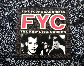 Fine Young Cannibals - The Raw And The Cooked - Vinyl LP Record Album - 1988 First Pressing. 80s Dance Classic. She Drive's Me Crazy