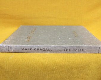 Marc Chagall Art Book. Chagall The Ballet Coffee Table Art Book. Marc Chagall Gift Book. Art Book Christmas Gift.Marc Chagall The Ballet Art