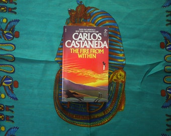First Edition Carlos Castaneda - The Fire From Within  1985 Rare Paperback Book on Shamanism Psychedelics. Great Condition Castaneda Book