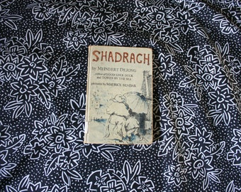 Shadrach By Meindert DeJong Illustrated By Maurice Sendak. 1953 First Edition Library Binding Edition. Rare First Edition Childrens Book