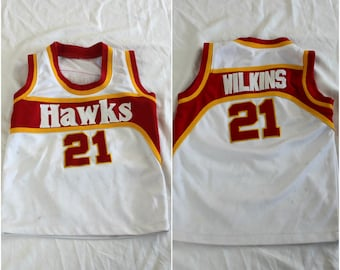 cfff7c563bf2 ... champion jersey 48 nwt thumbnail 2 ffd0d fb219 authentic vintage baby  kids toddler dominique wilkins atlanta hawks embroidered nba jersey.rare  vintage ...