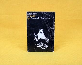 Endgame By Samuel Beckett. Vintage Samuel Beckett Play Script Paperback Book. 60s or 70s Evergreen Paperback.