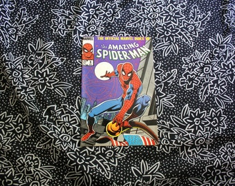 Official Marvel Index To The Amazing Spiderman #8 1985 Vintage Marvel Comic Book.  Classic Bronze Age Superhero Comic Book