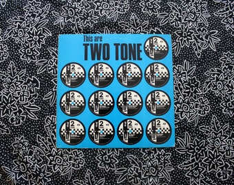 This Are Two Tone Ska Compilation - Vintage Vinyl LP Record Album -Madness, The Specials, The Selecter Rare Two Tone Ska Punk Vinyl Record