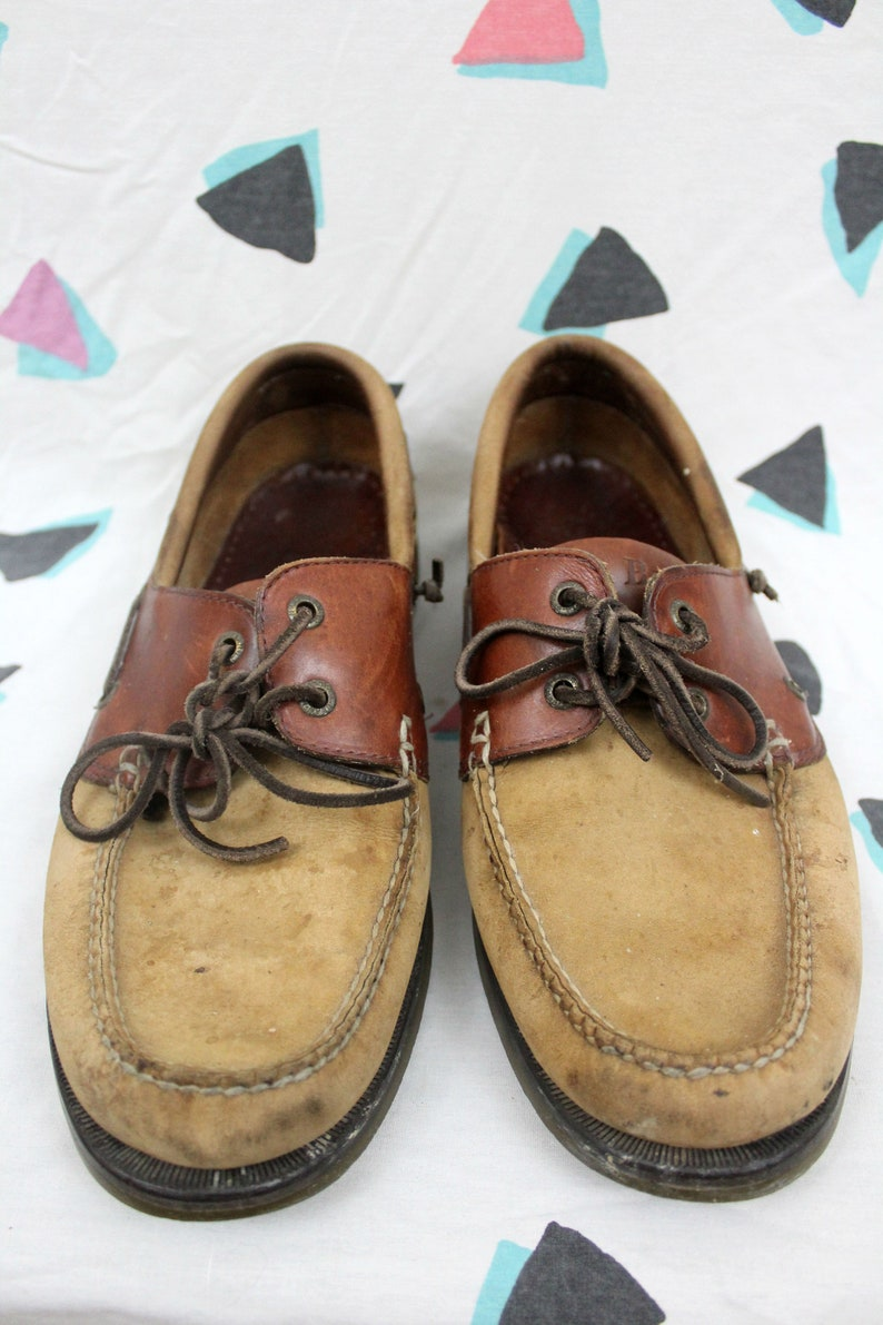 fc177e5de7d L.L. Bean Leather Loafers. Size 11.5 Mens Slipper Shoes. Suede