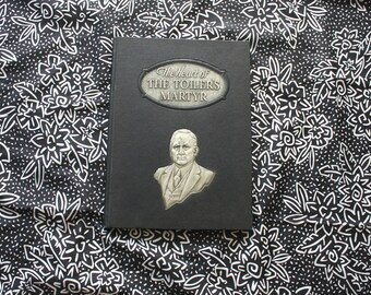 The Heart Of The Toiler's Martyr By E.R. Robinson. Rare 1939 First Edition Hardcover Poetry Book About Arkansas Senator Joseph Robinson