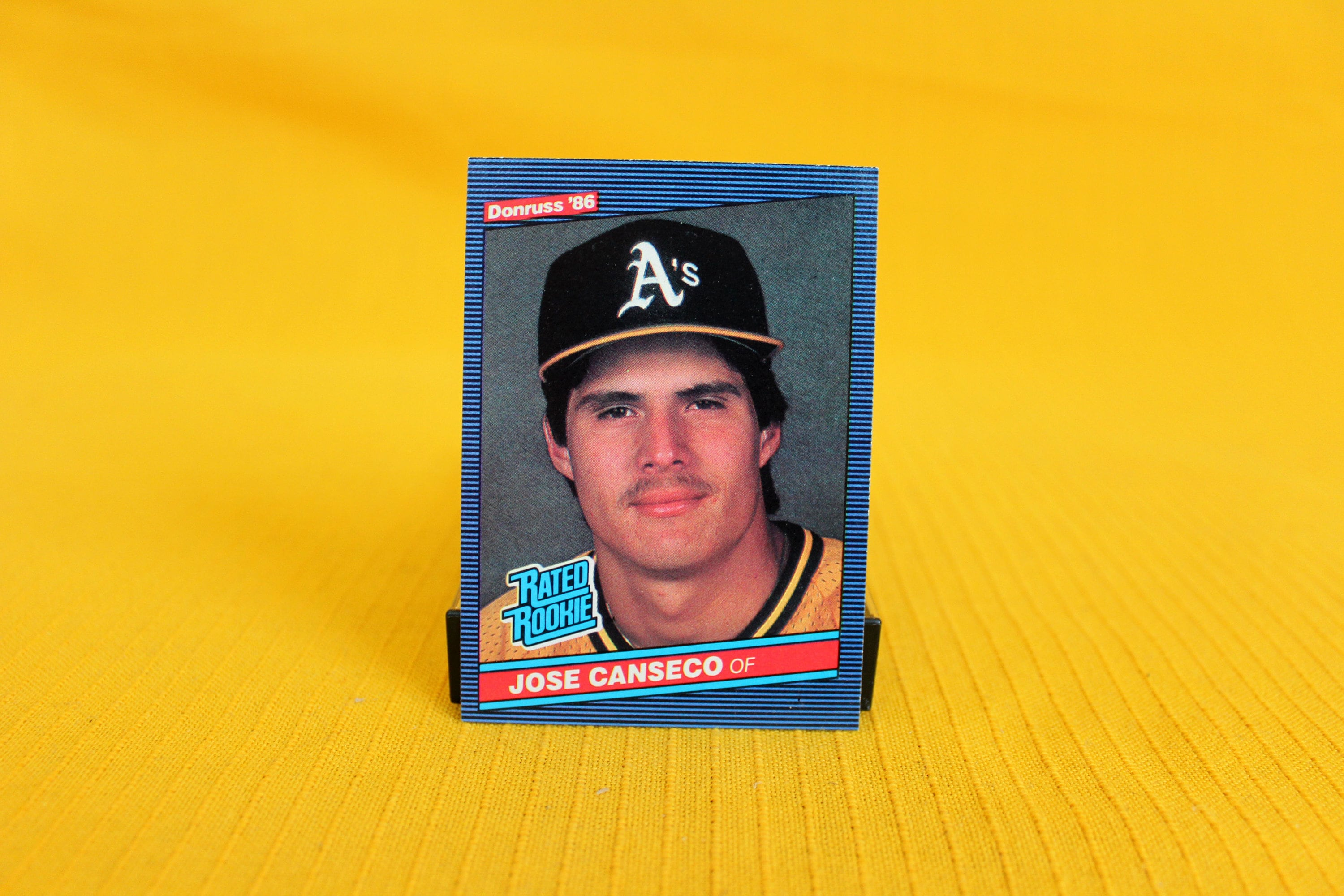 Jose Canseco Rookie Card Donruss 1986 Oakland Athletics