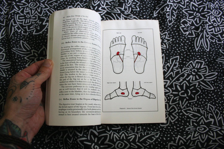 Foot Reflexology Book