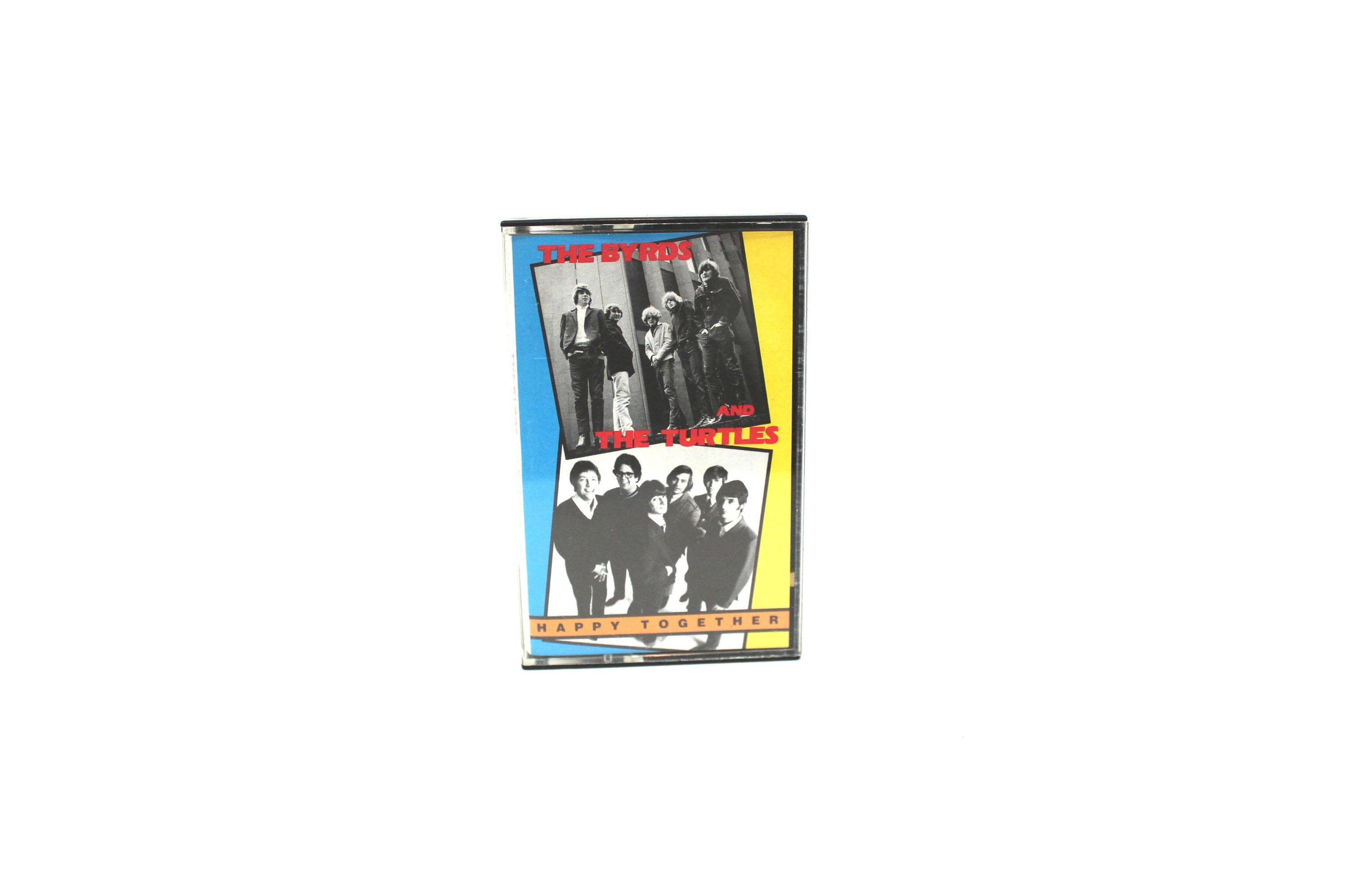 The Turtles And Byrds Vintage Cassette Tape 60s Psychedelic Music Rare Happy Together Psych Rock