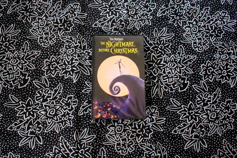Nightmare Before Christmas VHS Tape Tim Burton 90s Video. Cult ...