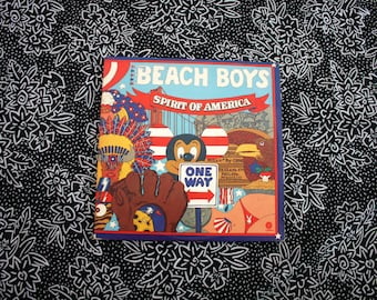 Beach Boys - Spirit Of America - Vintage Vinyl Double LP - 1975 Capitol Records. Rare 60s Double Surfer Beach Jam Rock N Roll