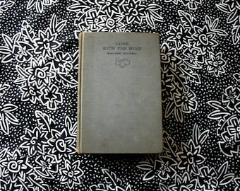 Gone With The Wind By Margaret Mitchell. 1936 First Edition Later Printing Vintage Hardcover. Classic Literature Romance Fiction.