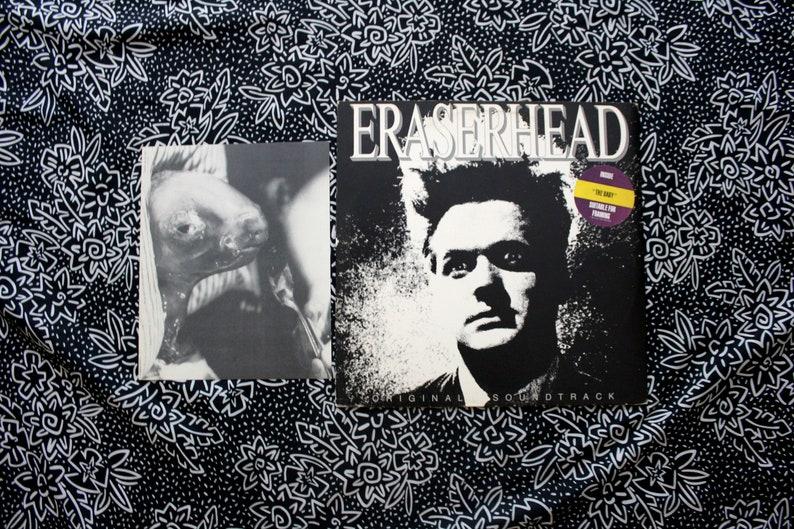Eraserhead Original Soundtrack With POSTER - Vintage Vinyl LP Record Album  -Original 1982 IRS Records First Pressing  David Lynch Twin Peaks
