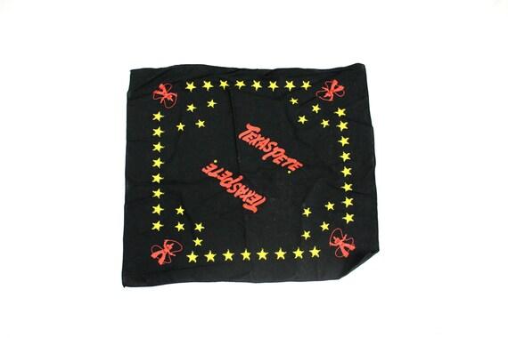 f551c7718e6eba Texas Pete Bandana. Vintage Texas Pete Hot Sauce Handkerchief.