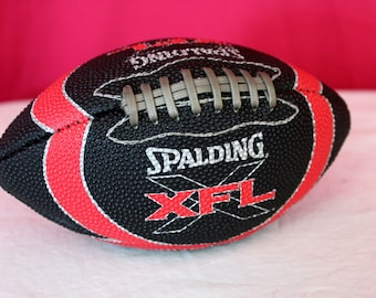 Vintage XFL Mini Football. Rare WWF WWE Football League Mini Football. Vince McMahon Football League Xfl Rare Wrestling Mini Football