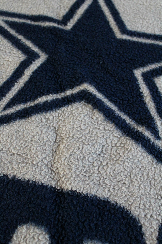 Vintage Dallas Cowboys Throw Blanket. Retro 90s Dallas Cowboys NFL ...
