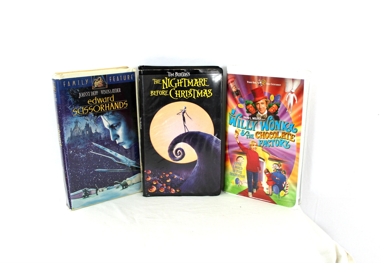 Vintage VHS Collection. Edward Scissorhands, Nightmare Before ...