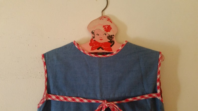 6cc363fb276c Vintage Girls Dress Size 6 Mod 1960's School Girl Dress | Etsy