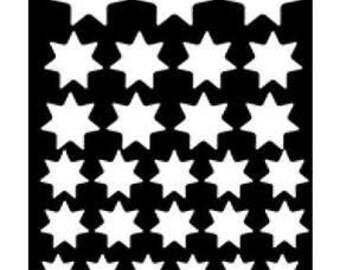 Ranger Dina Wakley Media Stencil Variegated Stars