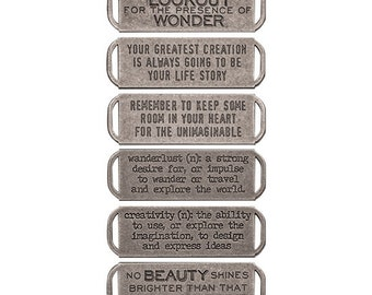 Advantus - Tim Holtz - Ideaology - Quote Bands