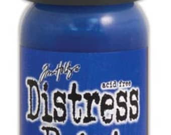 Tim holtz distress acrylic paint flip top blueprint sketch 1 oz blue ranger tim holtz distress paint flip cap blueprint sketch malvernweather Image collections
