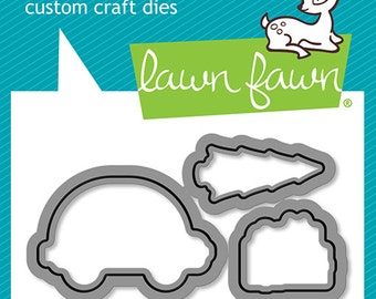 Lawn Fawn - Lawn Cuts - Home for the Holidays Dies