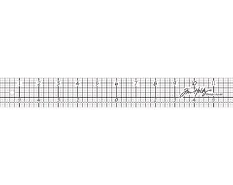 Idea-Ology Design Ruler 12' by Tim Holtz