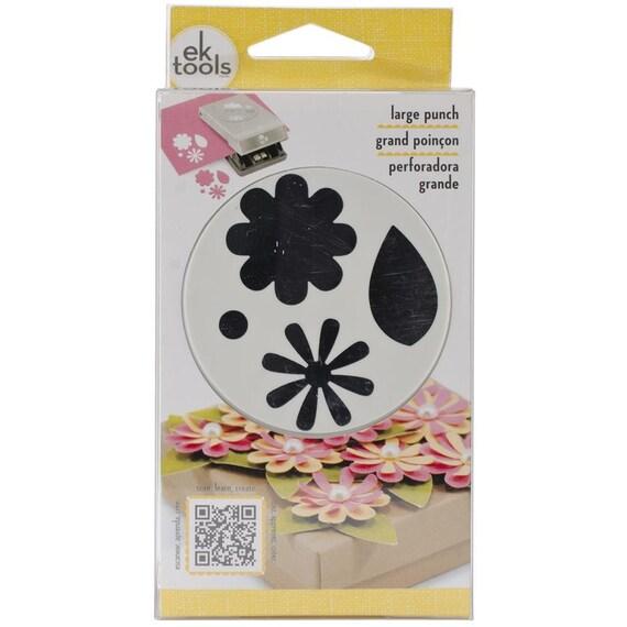 FLOWERS LEAVES Paper Shapers Punch Large Slim By EK Success Etsy