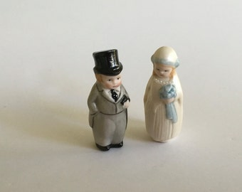 Adorable Bride and Groom By Martha Watkins for the dollshouse