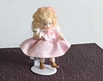 "Tiniest Little Doll 1 1/2"" artist Made"