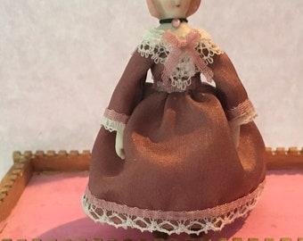Fabulous Dollhouse Chinahead Doll artist Made