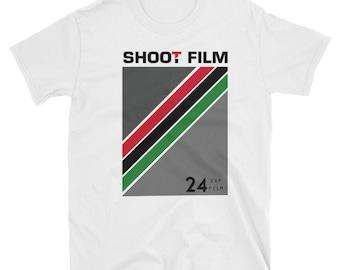 Shoot Film - 24 EXP Short-Sleeve Unisex T-Shirt