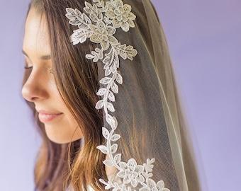 Soft Lace Wedding Veil