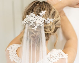 Barely There - English Net Wedding Veil