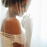 Soft Drop Wedding Veil