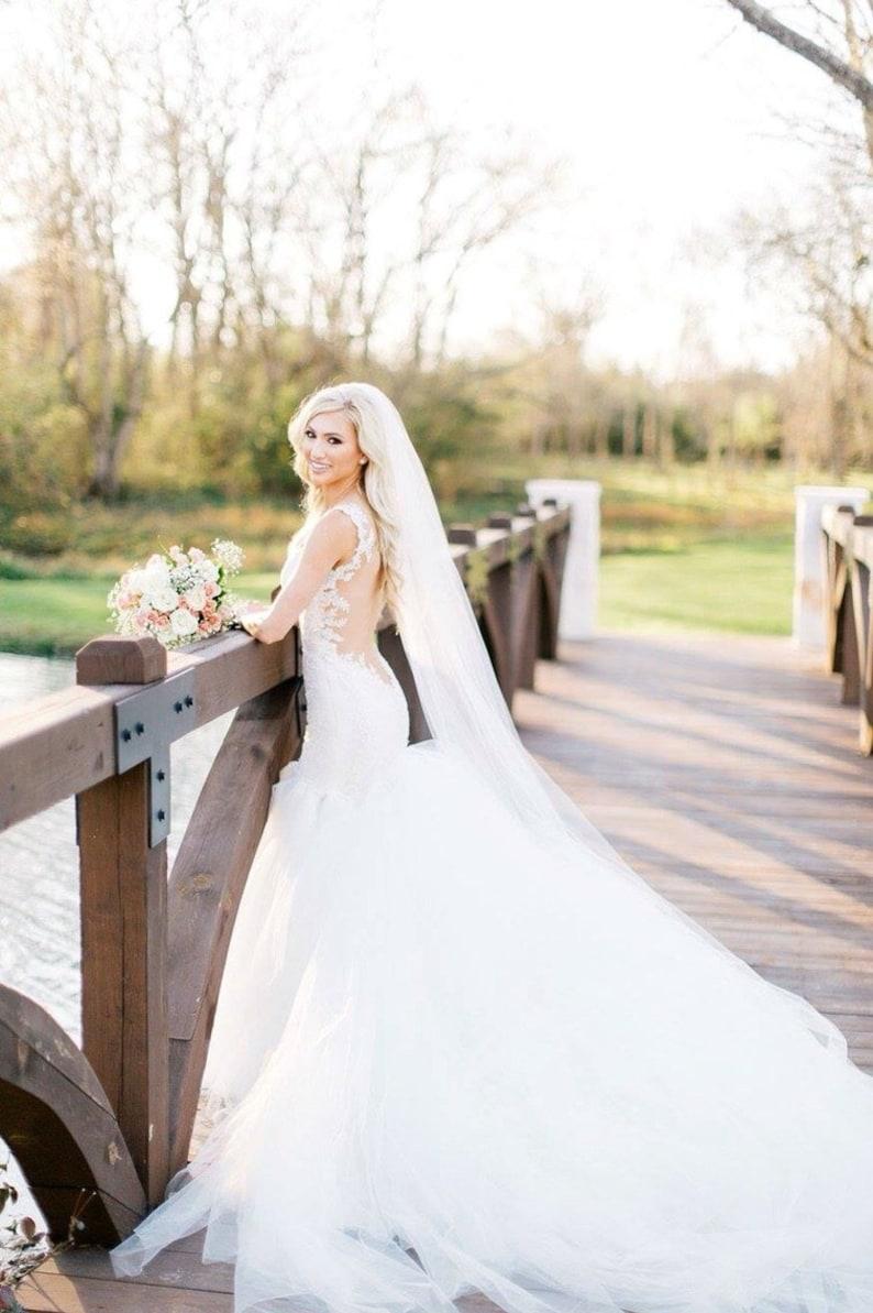 Soft Wedding Veil image 0