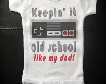 Keepin' it old school like my dad video games nintendo