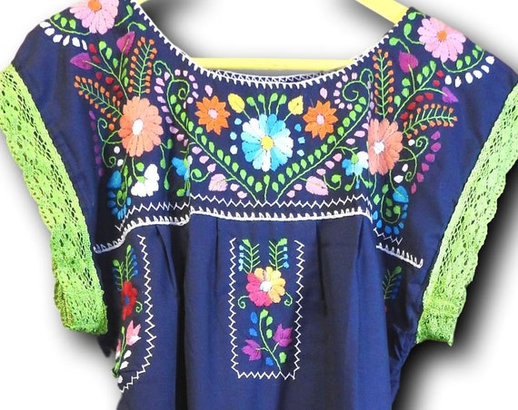 Mexican puebla dress