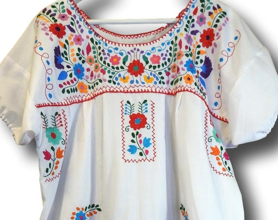 White gypsy dress for women