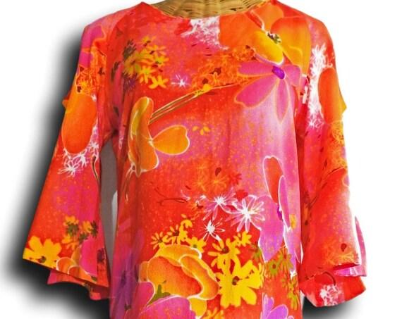 Floral bare shoulder maxi dress