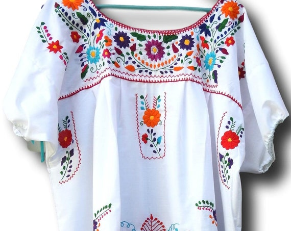 Plus size Mexican dress