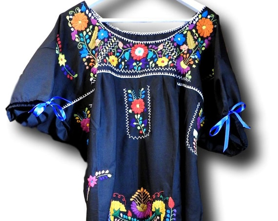 Plus size Mexican fiesta dress
