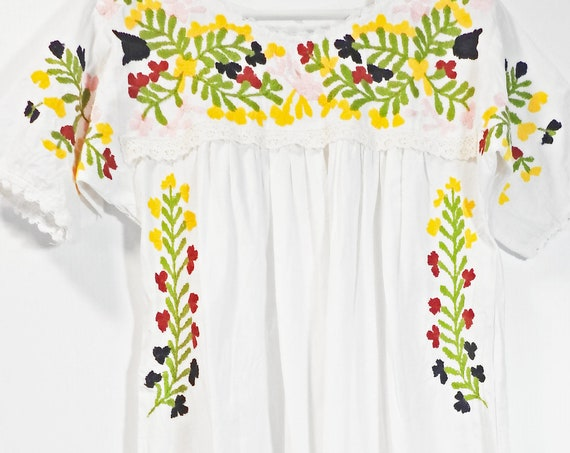 Fancy embroidered dresses